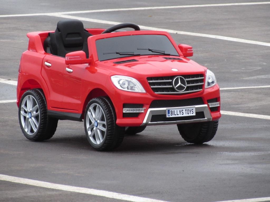 Merc ML350 licensed 12v ride on cars brand new