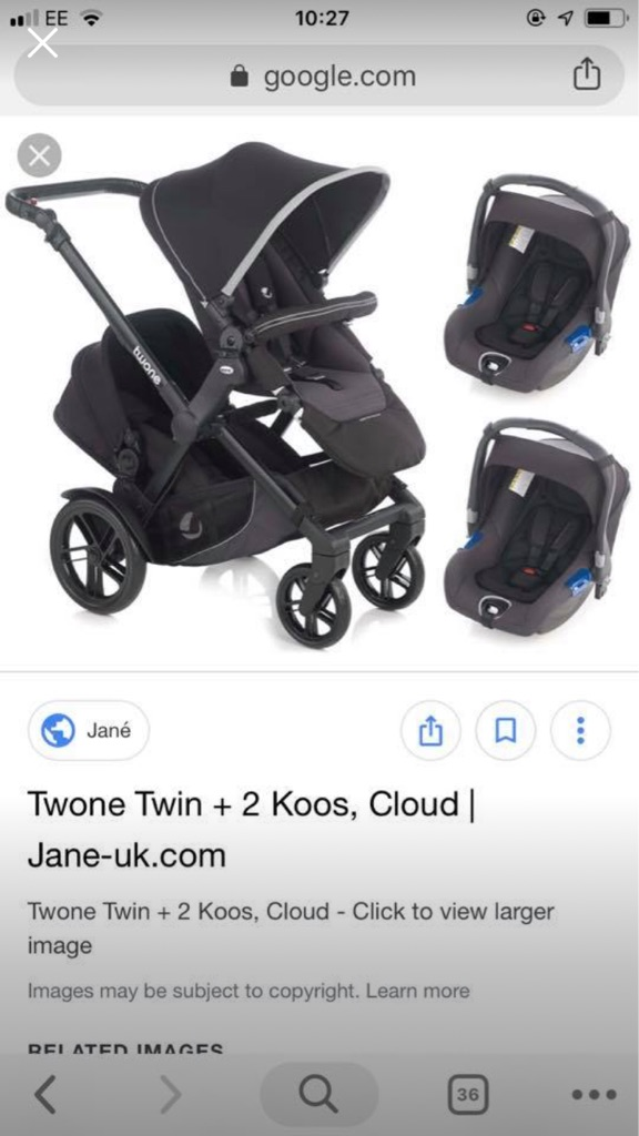 Twone twin buggy