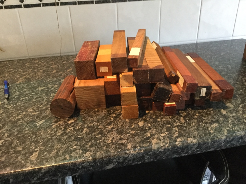 Wood turning blanks and accessories