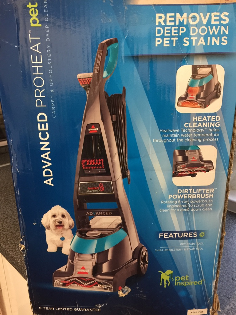 Bissell Advanced Pro Heat pet Deluxe.
