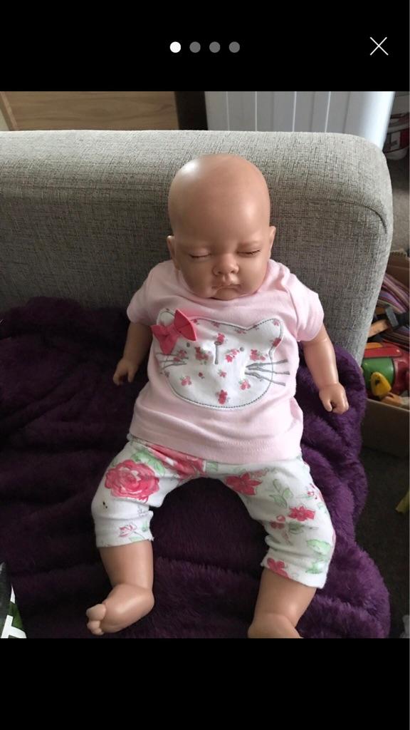 REBORN BABY WEIGHTED