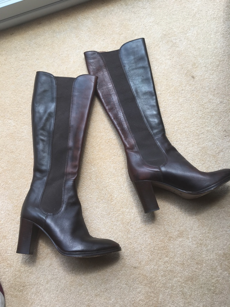 Hobbs chestnut boots