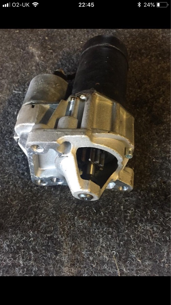 Renault traffic starter motor