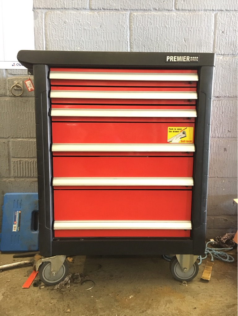 Price reduced! Sealey premier roller cab tool box