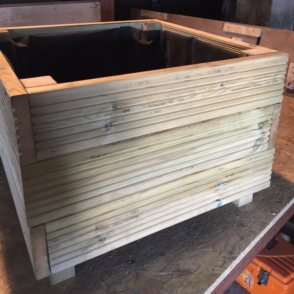 Wooden Planter - 600x600mm