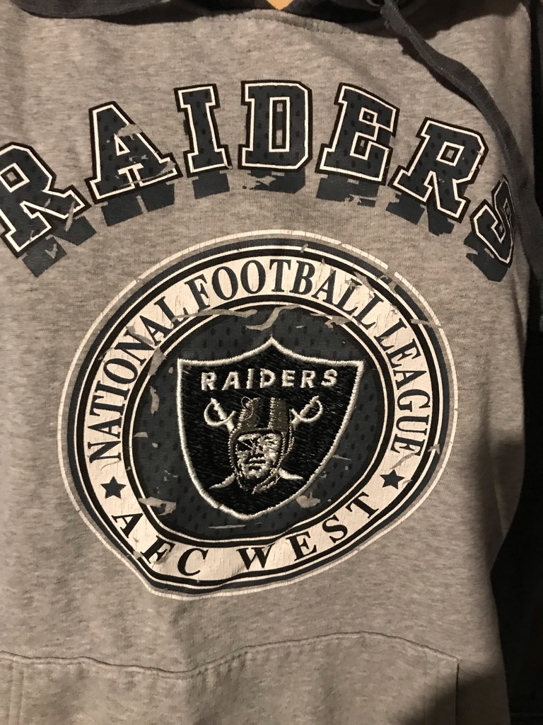 Oakland Raiders Hooded Sweatshirt