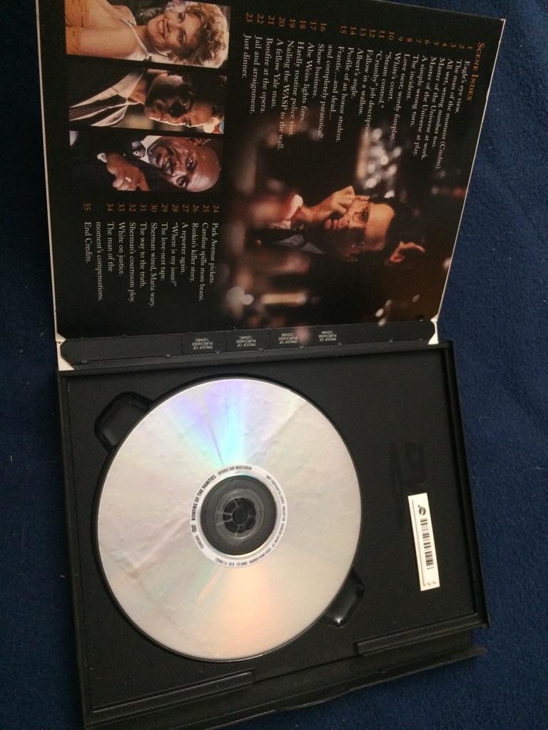 The Bonfire of the Vanities DVD