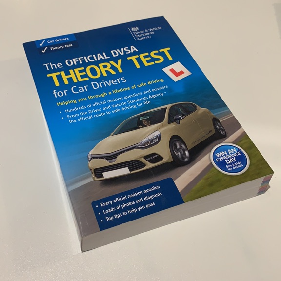 DVSA theory test book