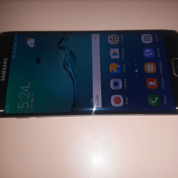 Samsung Galaxy S6 Edge Plus T-Mobile/MetroPCS Phone New Without Box Clear ESN Gold