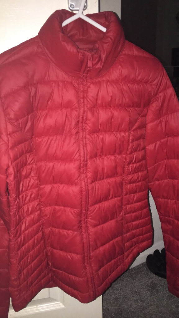 Womens Red Coat Size 6-8