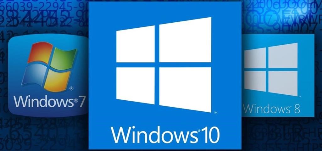Microsoft Windows product keys 7/8/10