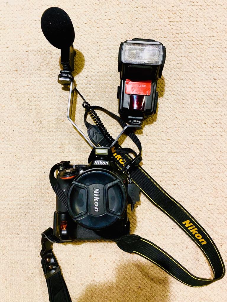 Nikon Pro Video setup - 18-200mm 5.6 - Mike