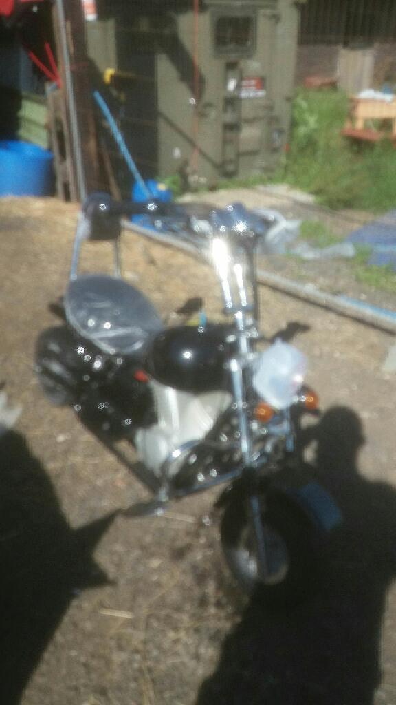 Kids 50cc chopper motor bke