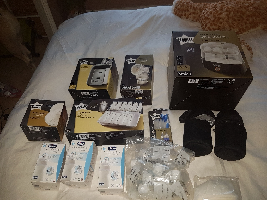 Full Tomee Tippee package for a new mum