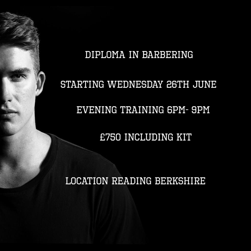 Diploma in Barbering Reading Berkshire