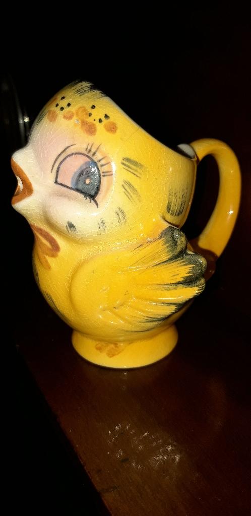 vintage shawnee cream jug