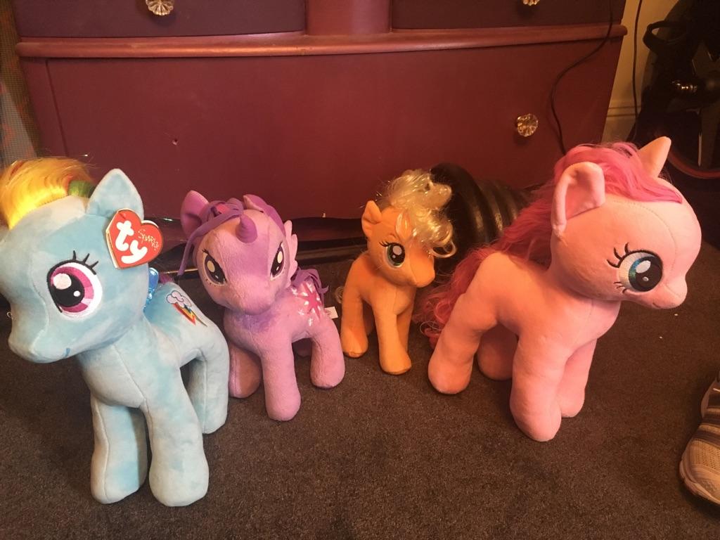 My little pony ty teddy's