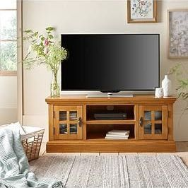 Brand new Whitford solid wood TV unit