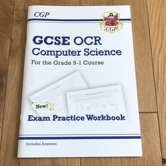 GCSE OCR COMPUTER SCIENCE WORKBOOK