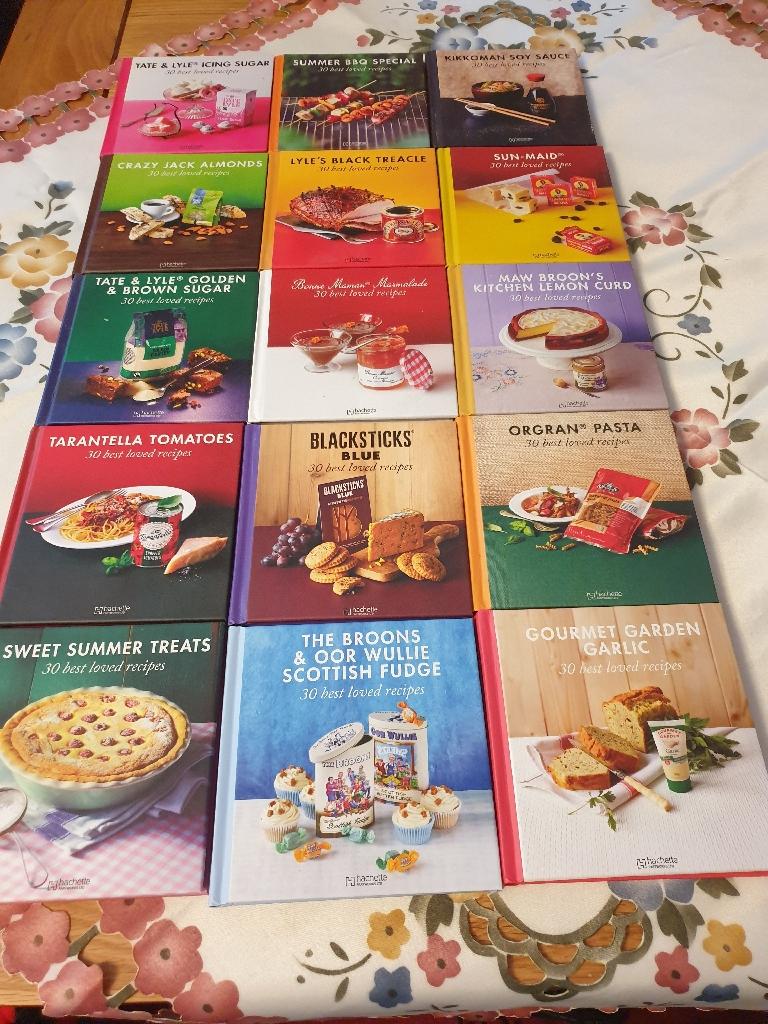 82 Receipe books