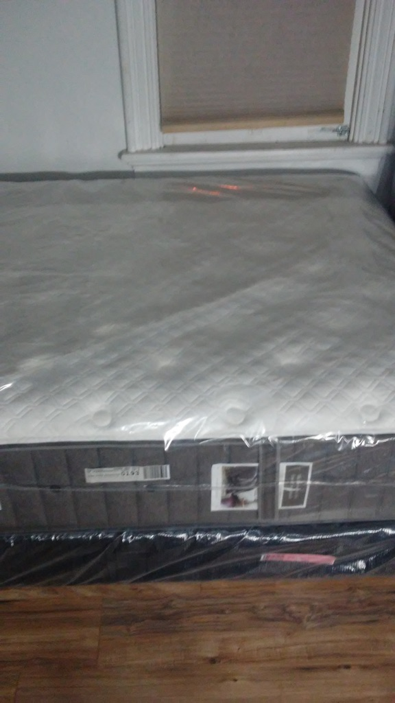 Brand New! Queen Stearns and Foster Estate Mattress Set