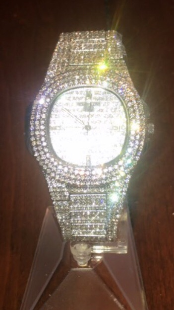Iced watch
