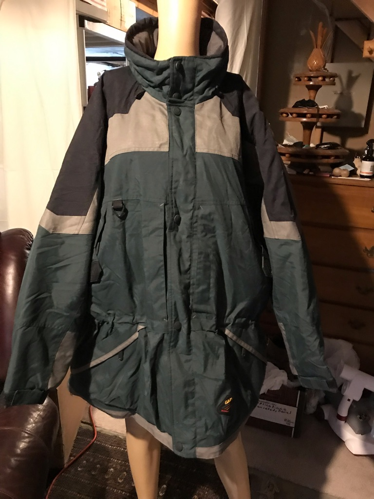 Cabelas Dry Plus Fully Lined Hooded Jacket
