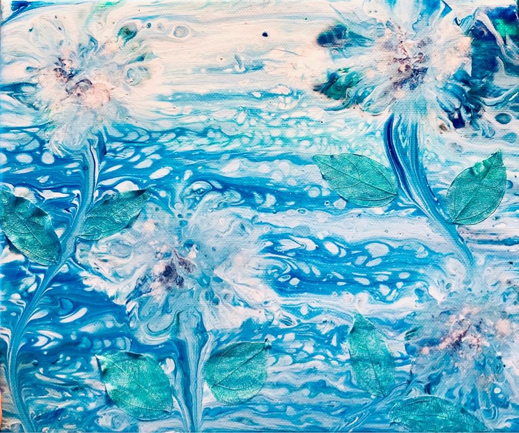 Original Acrylic Artwork 25x30cm