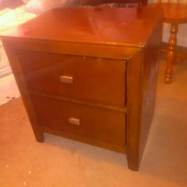 New brown dresser
