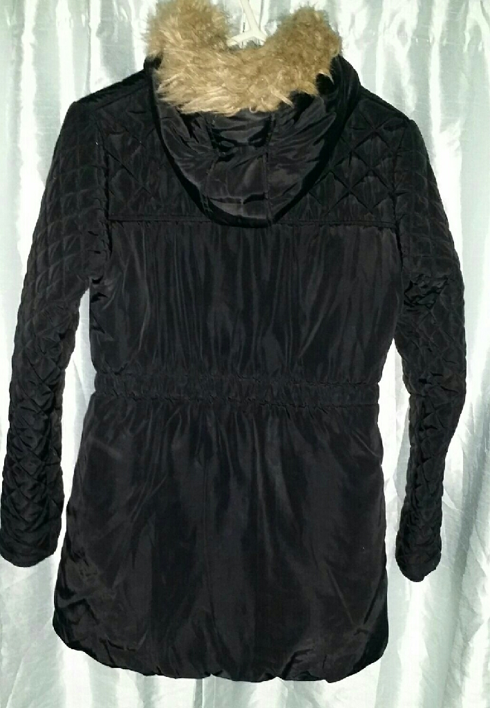 Black winter jacket for girls/ladies