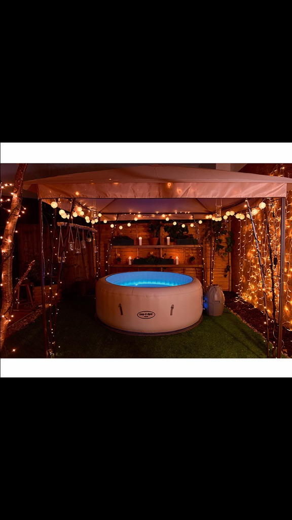Lazy Lay Z Spa Hot Tub Hire Gazebo Party Packages