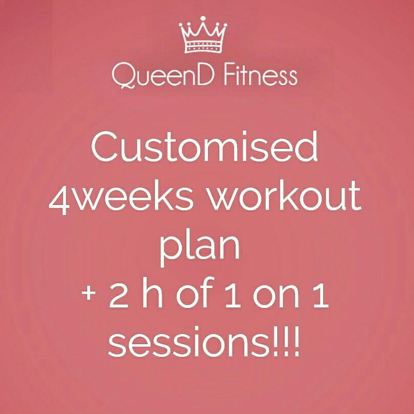 Personalised workout plan * nutritional guidline * 2h of introduction to your workout plan