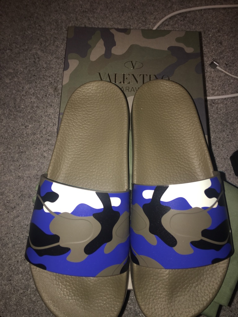 Brand New Authentic Valentino Slides