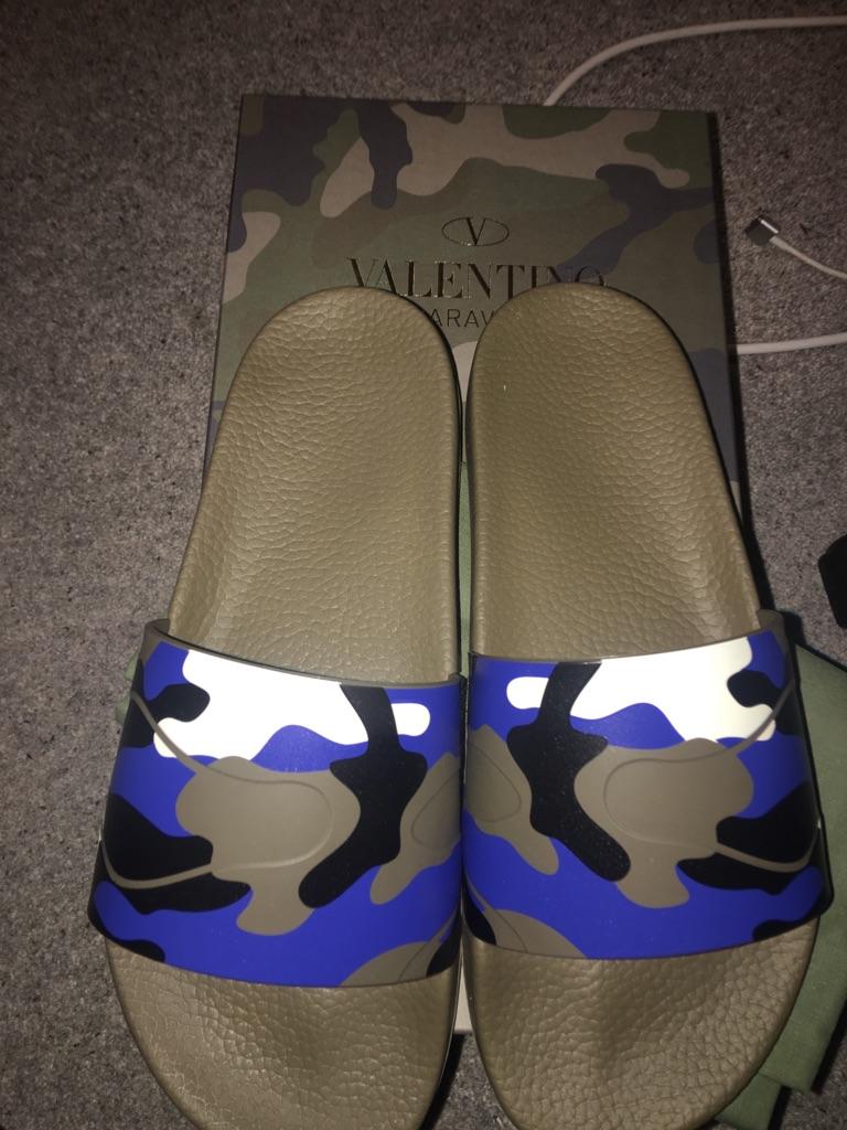 Brand New Authentic Valentino Slides
