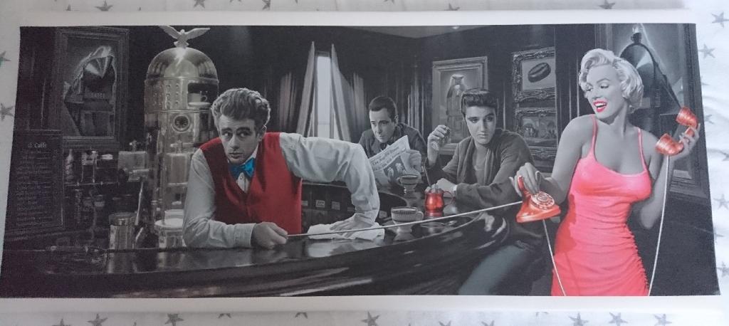 canvas on frame wall art