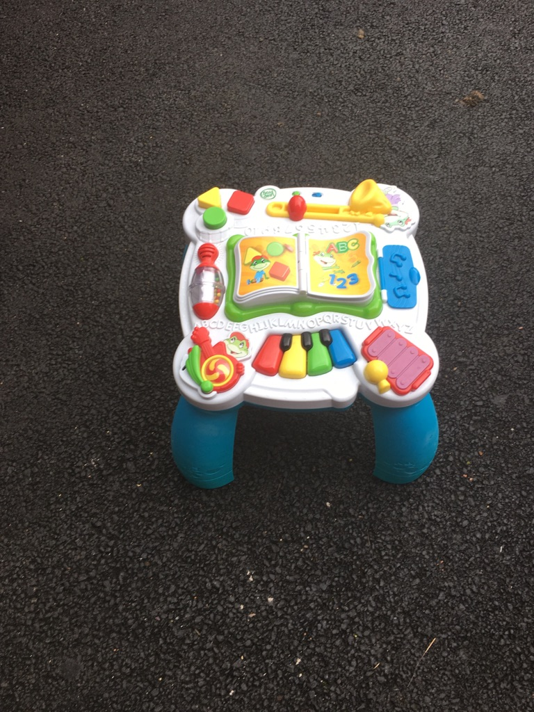 Leap frog baby table