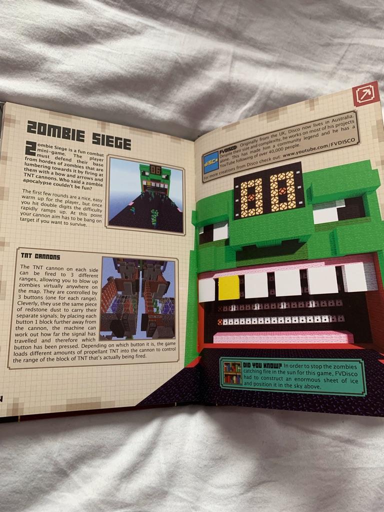 2x Minecraft Handbooks