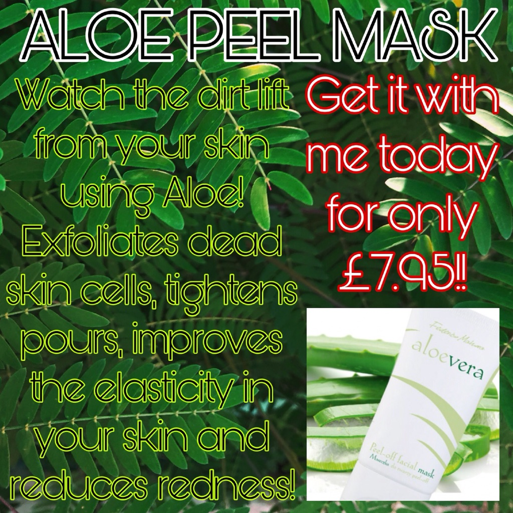 Aloe Peel Mask