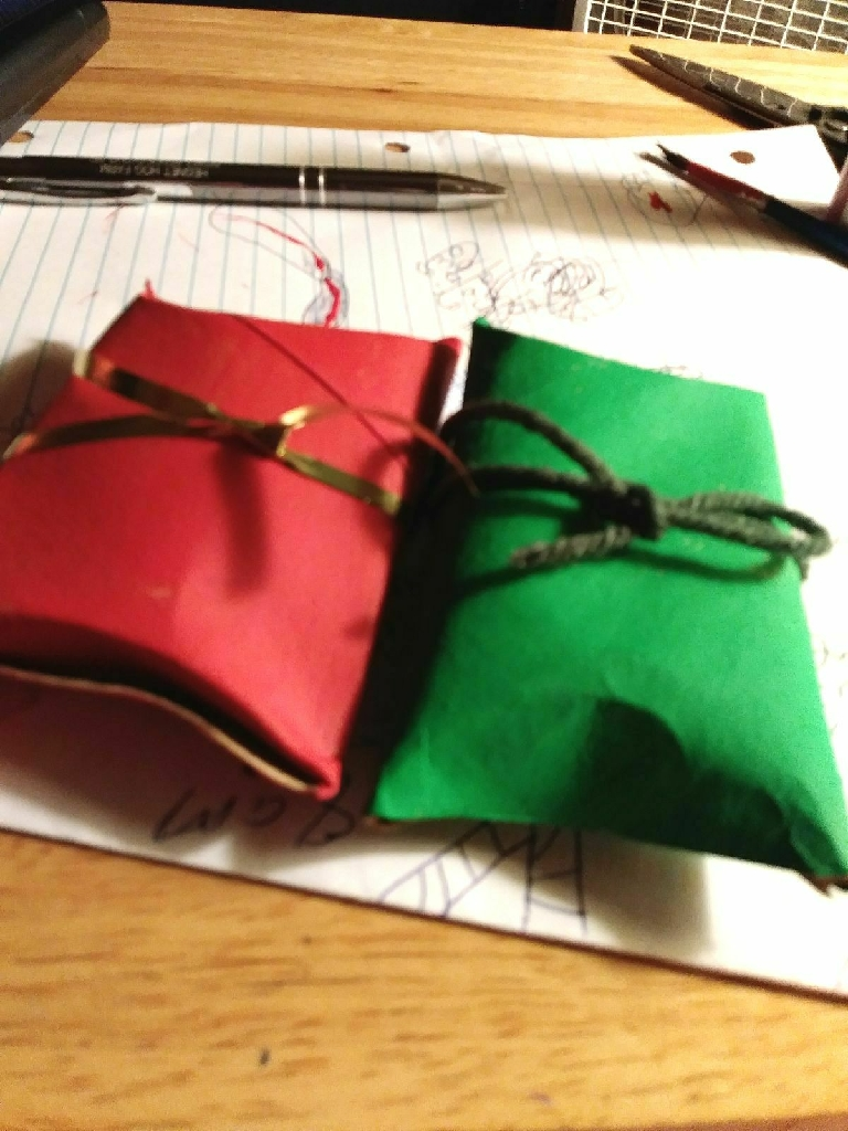 Gift card boxes for Christmas