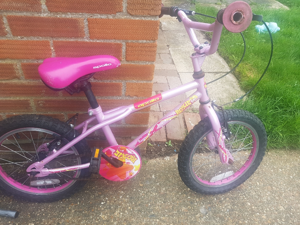 "Apollo roxie 16"" 4-8 year old bike"