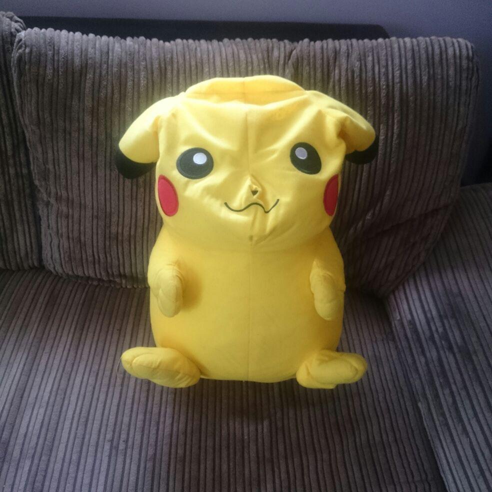 Pikachu cuddly toy,medium size, used