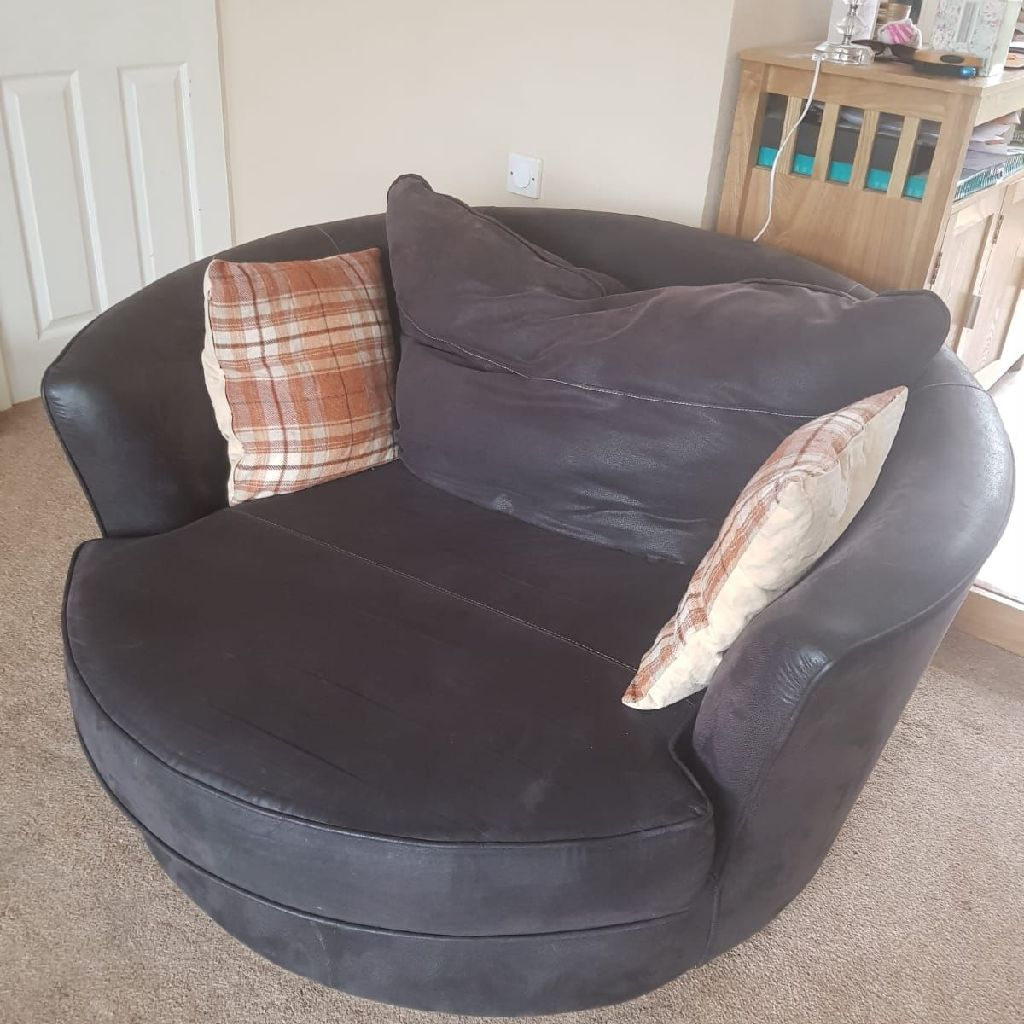 Large cuddle chair