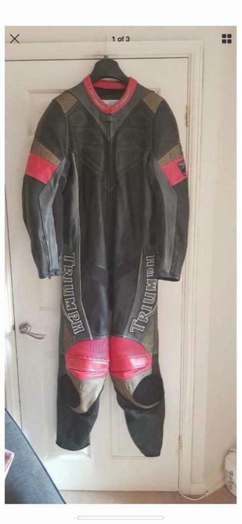 Triumph leathers