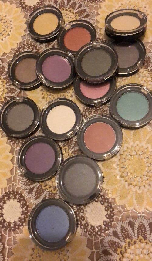 Eyeshadow different colors