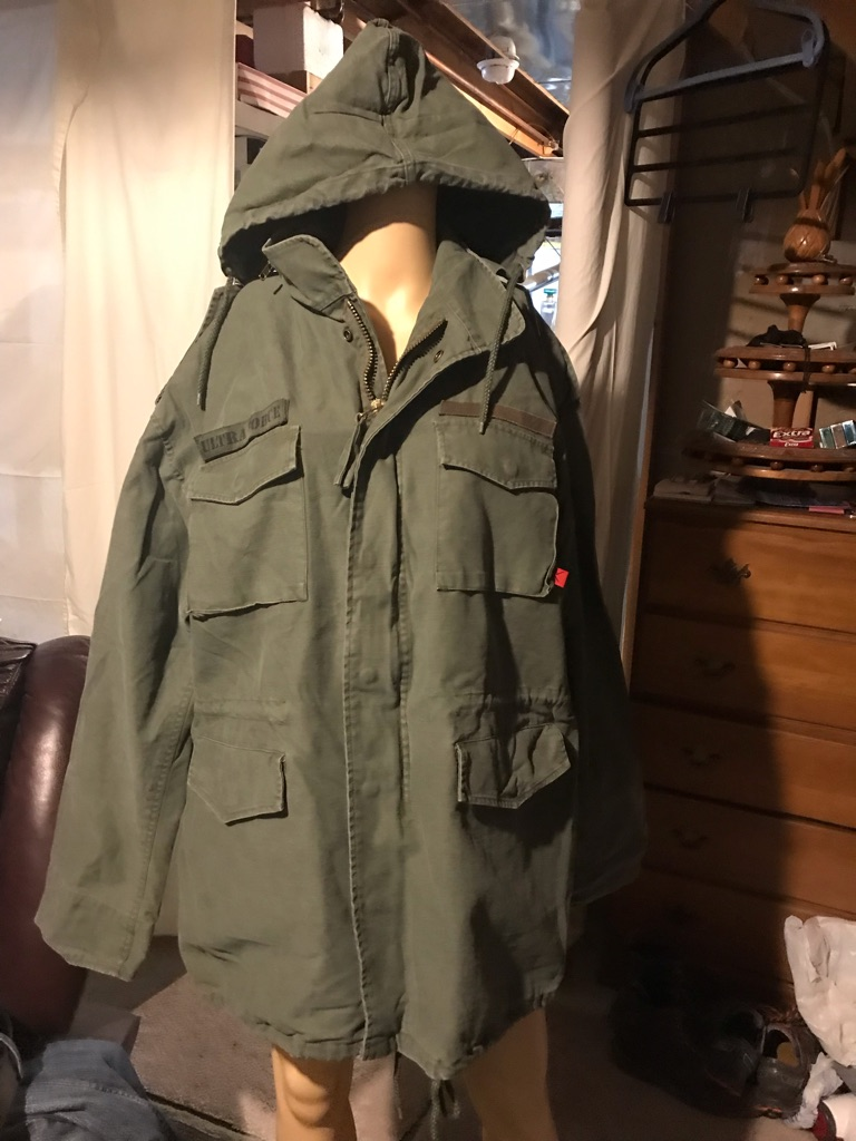 Rothco Ultra Force Green U.S. Army Men's Field Coat