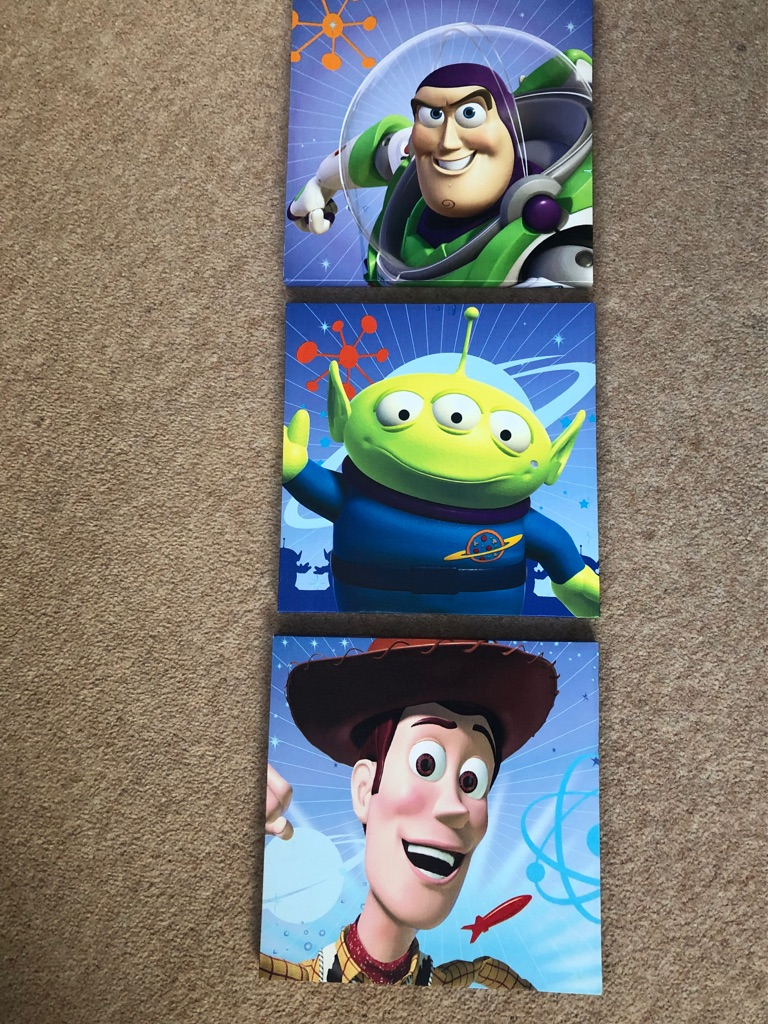 Toy Story Wall Canvass