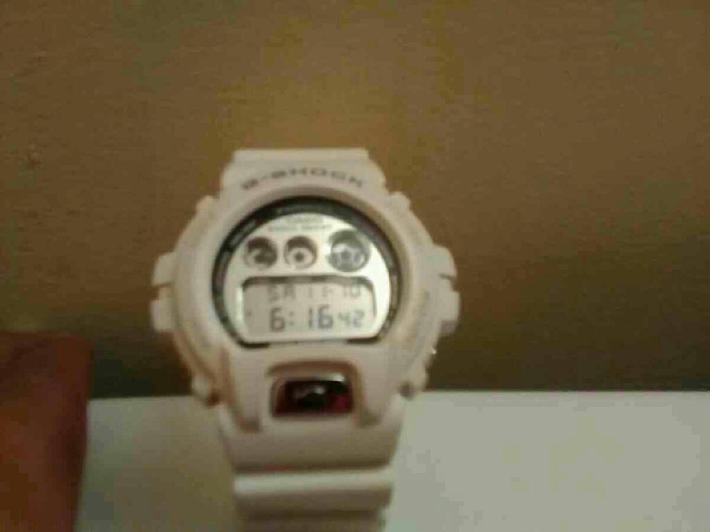 Men's White G-Shock Watch