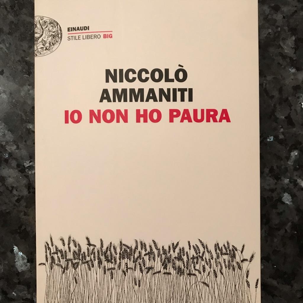 Italian book Io non ho paura by Niccolo Ammaniti