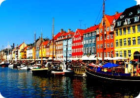 Bank holiday 2 people tickets flights for Copenaghen