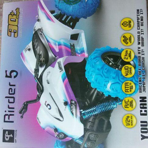 RC Rider 5 quick quad